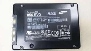 Samsung 850 250G SSD 2.5inch