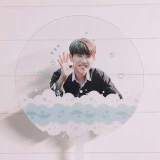 Custom Transparent Handfan