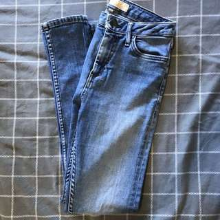 Topshop Jeans (Mid-rise Ankle Grazers)  W25 to fit L30