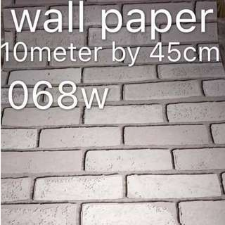 Bricks Stones Design Wallpaper Self Adhesive C068W