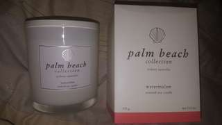 Palm Beach Candle 375g WATERMELON