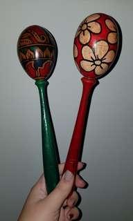 Marakas alat musik mexico