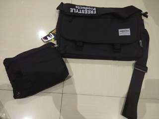 LAPTOP BAG with Free Foldable Backpack