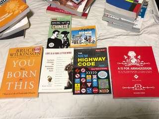 Random assortment of books