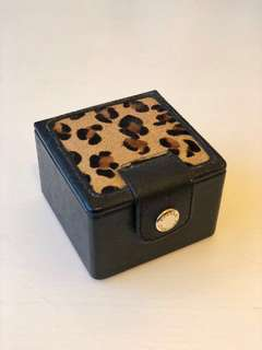 Leopard Print Jewellery Box 豹紋首飾盒/飾物盒 (by Banana Republic)