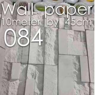 Bricks Stones Design Wallpaper Self Adhesive C084
