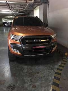 Ford wildtrack ranger