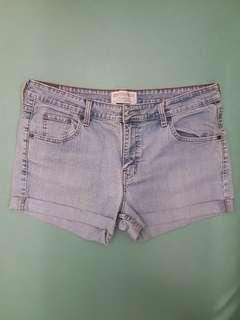 Levis Cut Off Jeans