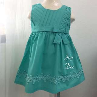 ❤️Cotton Dress (Ribbon Mint Green)❤️