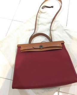 READY STOCK Hermes Herbag31 ( Authentic)