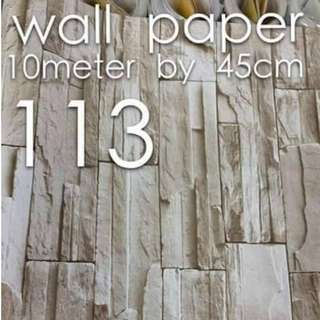 Bricks Stones Design Wallpaper Self Adhesive C113