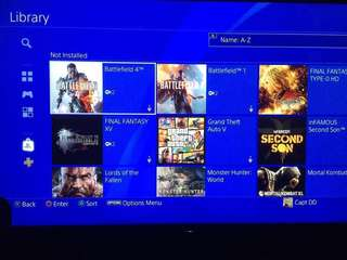 PS4 PSN ID with Games