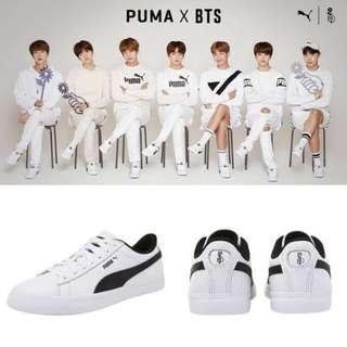 BTS x Puma court star size 22/23