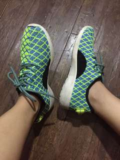 running and biking shoes