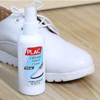 PLAC shoe white polish
