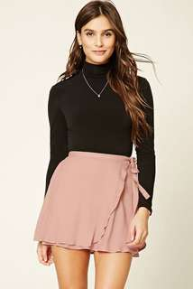 Forever 21 Wrap Front and Self Tie Skirt
