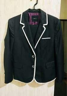 The BLACK SHOP Woman Suit (terno)