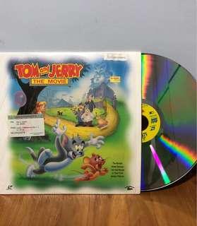 """Vintage Laser Disc """"TOM N JERRY"""" Collector Item (90s)"""