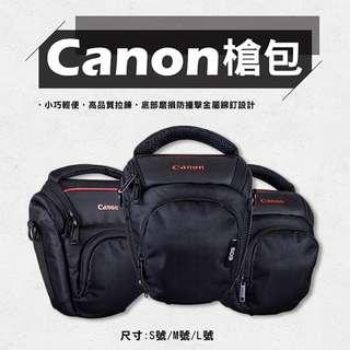 Canon槍包-L號 防水款 單眼 相機包 三角包 槍包 一機一鏡 微單眼 內附防雨罩 防塵罩 防潑水