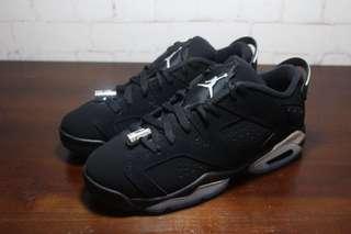 Air Jordan 6 Black Chrome