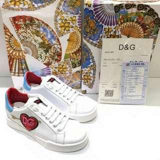 Sepatu Dolce and Gabbana Sneakers