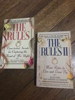 Book Bundle! The Rules 1 & 2 (Ellen Fein & Sherrie Scheider)