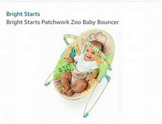 Bright Starts..Baby Bouncer.