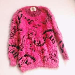 Fur sweater (winter wear)