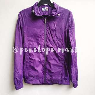 Authentic K-Swiss Women's Windbreaker Jacket (Purple) + Free Shipping*