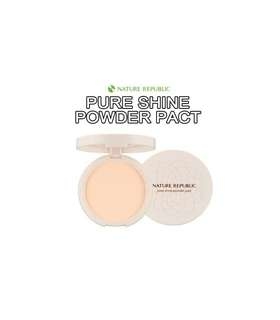 Nature Republic PURE SHINE POWDER PACT N23 NATURAL BEIGE