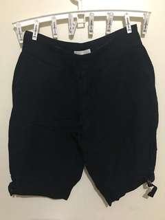 Pure Black Shorts