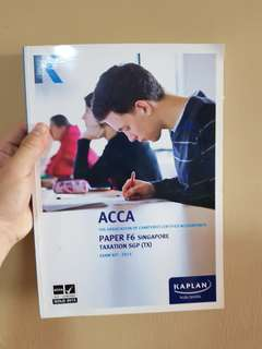 ACCA F5 BOOK AND ANSWER SHEETS (F5,F6)