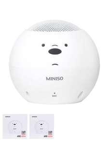 Bare bear speaker