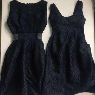 SET. Twinning dress