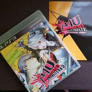 Persona 4 The Ultimate in Mayonaka Arena / P4U for PS3