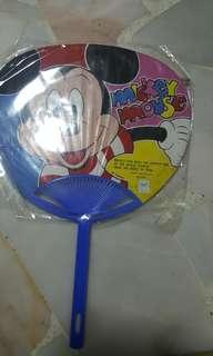 mickey mouse .hand fan
