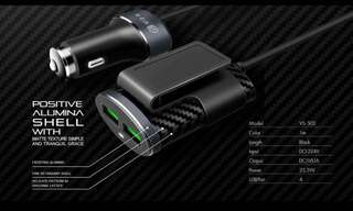Original V2S car charger 4 USB