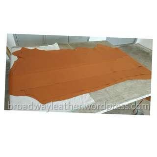 Saffiano leather for sale (tan colour)