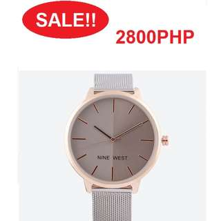 SALE! Brand New Nine West Watch 2800php only