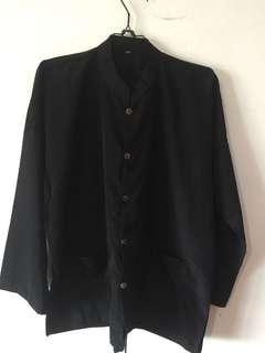 Baju koko pria hitam size L