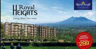 Apartemen view Gunung Harga mulai 350 jt an