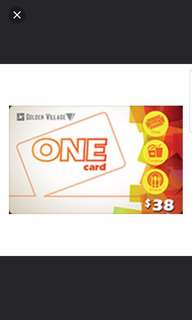 GV one card