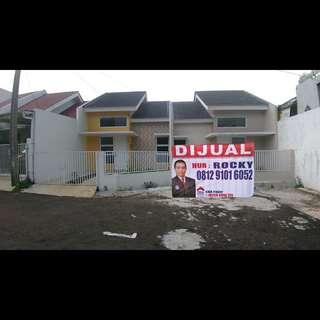 Rumah di tengah kota bisa free Dp dekat jalan pajajaran