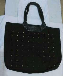 3.1Phillip Lim黑色可上膞金色鍋釘tote bags