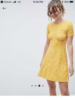 ASOS tea dress in scatter spot
