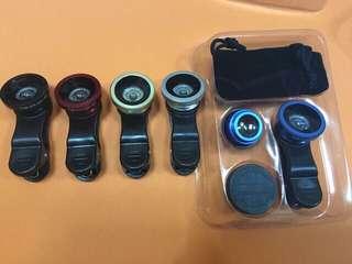 Phone clip lens