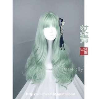 Pre-loved Manreally Wig FREE SF (Price fixed)