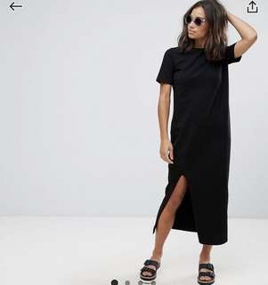 ASOS T-shirt Maxi Dress