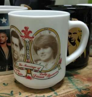 Mug - The marriage of H.R.H Prince Charles and Lady Diana