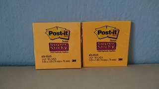3M Super Post-it Notes